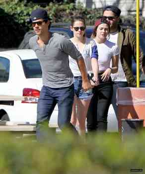 Kristen and Taylor on March 14